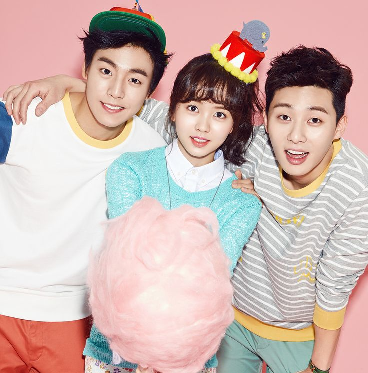 Lee Hyun Woo, Kim So Hyun, and Park Seo Joon for Unionbay Spring 2014 Ad Campaign