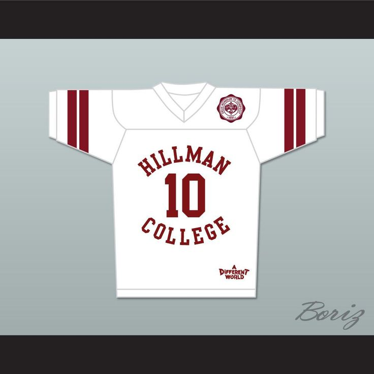 Ronald 'Ron' Johnson 10 Hillman College White Football Jersey with Theater Patch A. STITCH SEWN GRAPHICS  CUSTOM BACK NAME CUSTOM BACK NUMBER ALL SIZES AVAILABLE SHIPPING TIME 3-5 WEEKS WITH ONLINE TRACKING NUMBER Be sure to compare your measurements with a jersey that already fits you. Please consider ordering a larger size, if you plan to wear protective sports equipment under the jersey. HOW TO CALCULATE CHEST SIZE: Width of your Chest plus Width of your Back plus 4 to 6 inches to account…