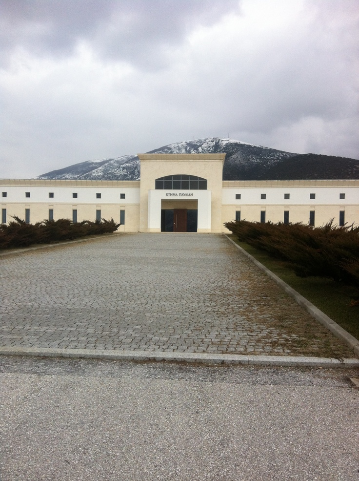 Pavlidis winery, Drama, Northern Greece