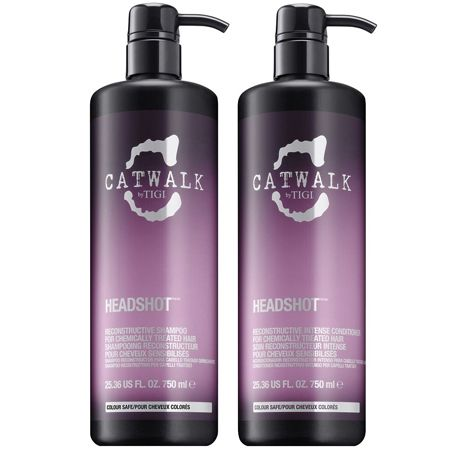 catwalk headshot reconstructive shampoo and conditioner duo