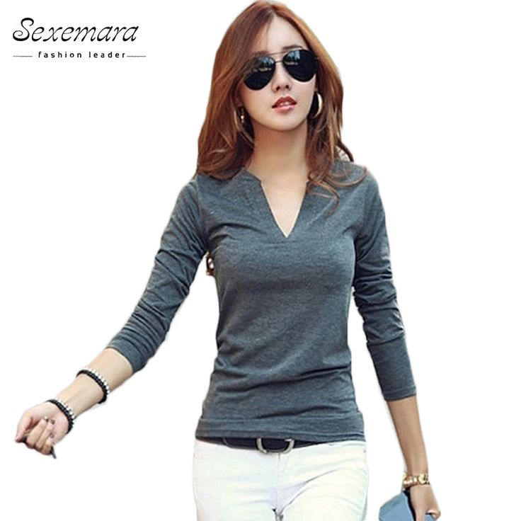 Blusas Femininas 2016 solid 14 colors V-Neck Women Blouses Sexy slim Knitted Clothes Long Sleeve Tops for Women clothing,CT220