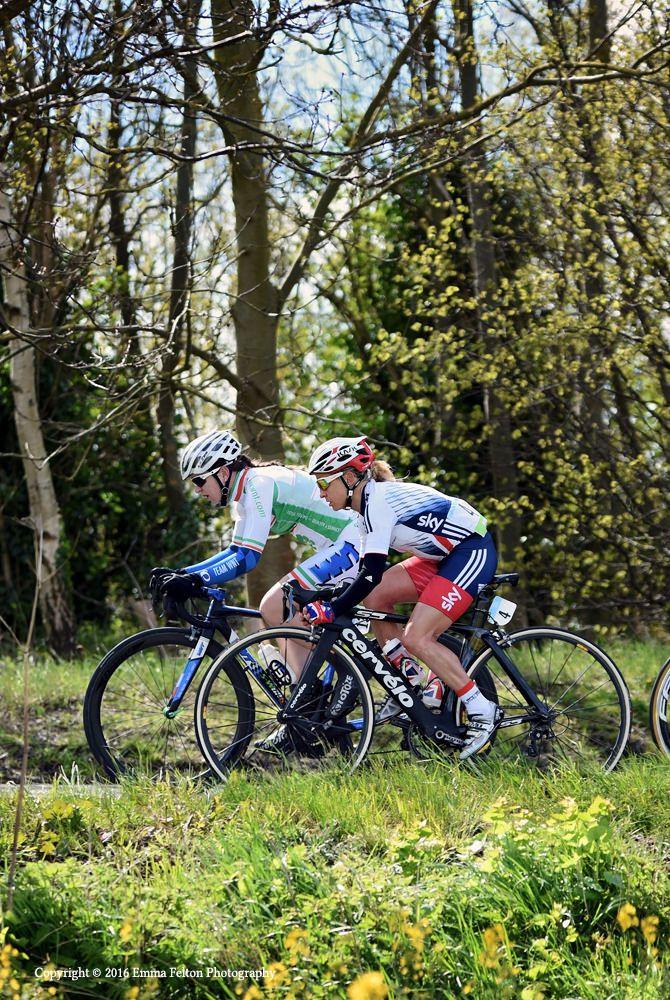 Emma Pooley - Tour de Yorkshire.