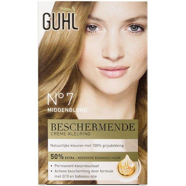 GUHL Beschermende creme-kleuring Nr. 7 Middenblond 4072600214701