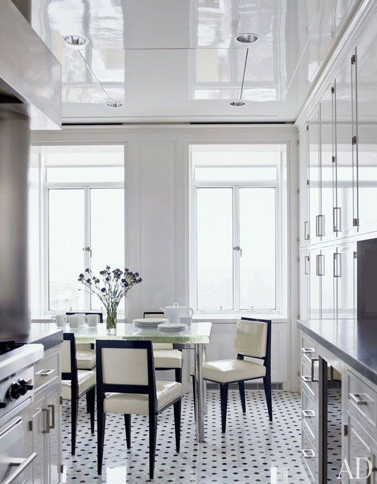 Architectural Digest Pin of the Week -  a New York kitchen