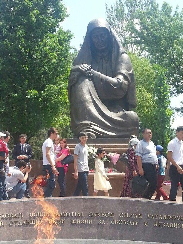 Celebrating victory day of world war 2Tashkent