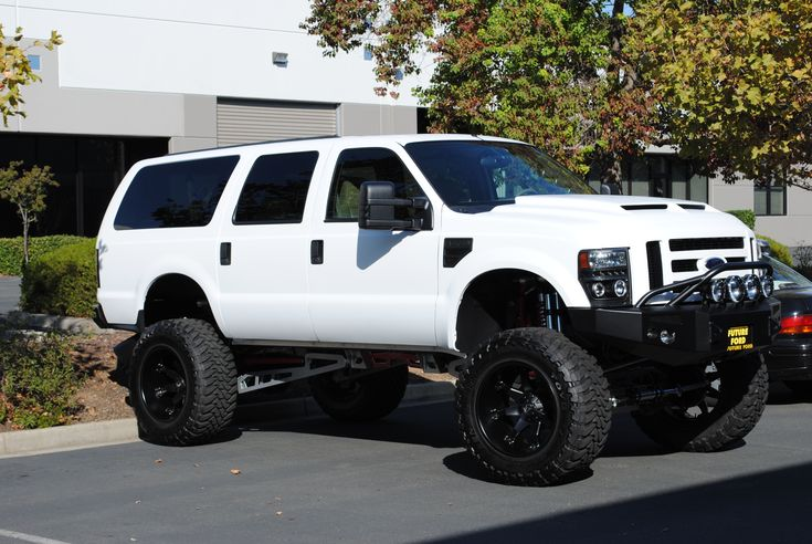 Ford Excursion http://www.mkmcustoms.com #ford #aftermarket #trucks #bigtrucks #diesel