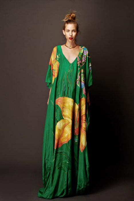 "This Stella Jean image alone may inspire me to start a separate ""Kaftan love"" board"