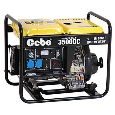 Dieselelverk GEBE 3,0 kW POWERMAN DC