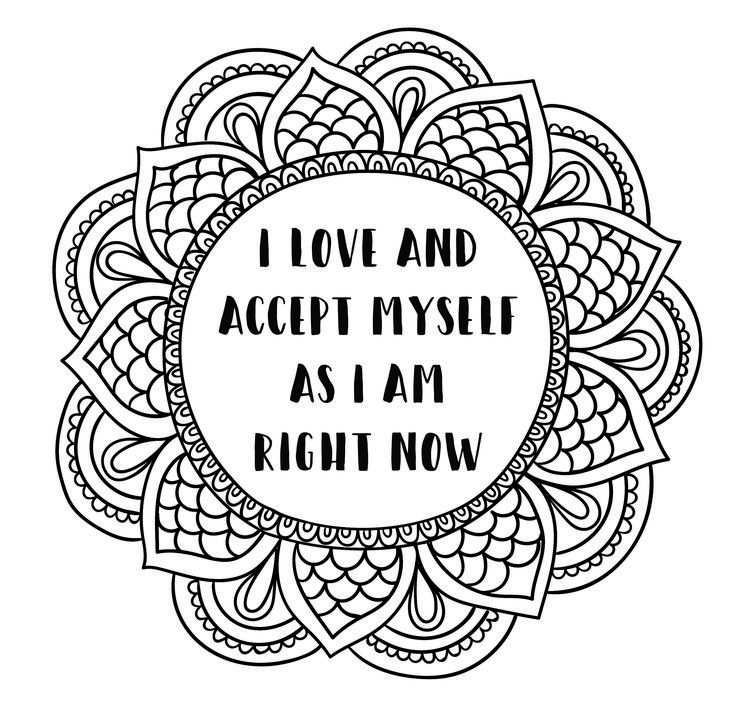Image Result For Self Love Coloring Sheet Self