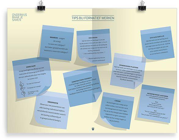 Tips bij formatief werken.
