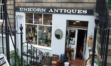 Edinburgh's secondhand shops are filled with kitsch quality and bargains