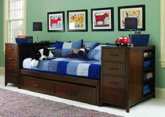 Maddox Ultimate Twin Storage Bed