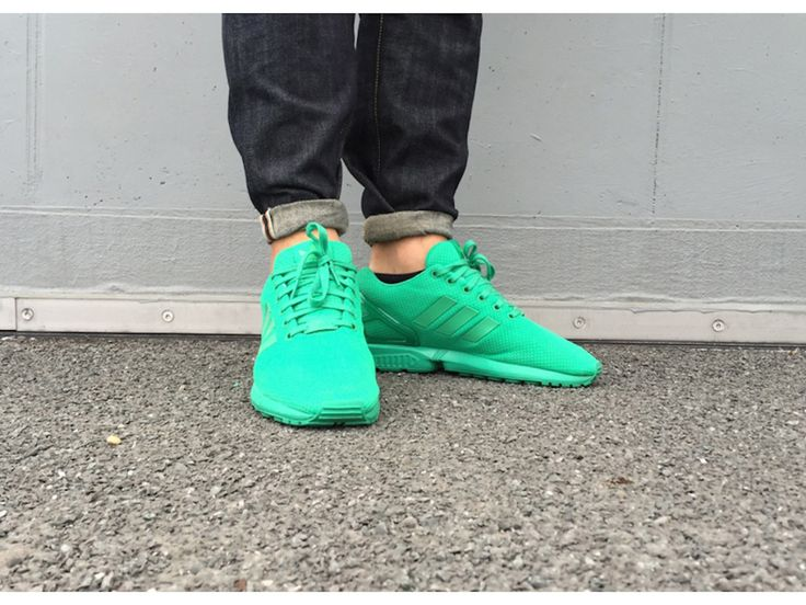 Adidas Flux Green