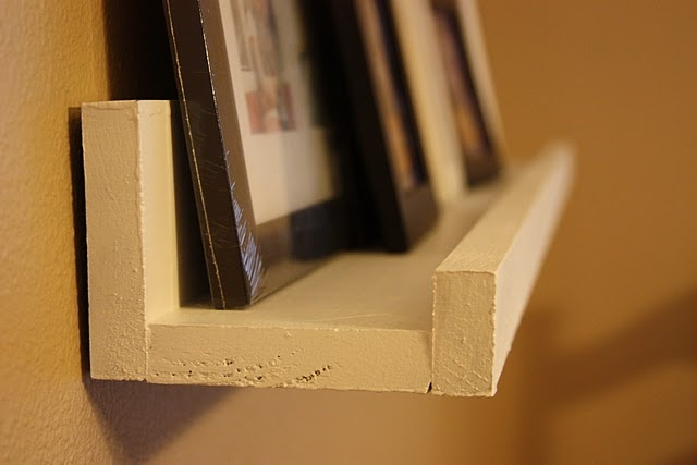 $10 ledges. Clever. | Decorate My Space | Pinterest