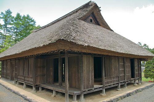 Old traditional Japanese House