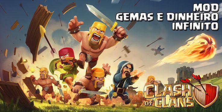 Clash of Clans - Gemas e Dinheiro Infinito