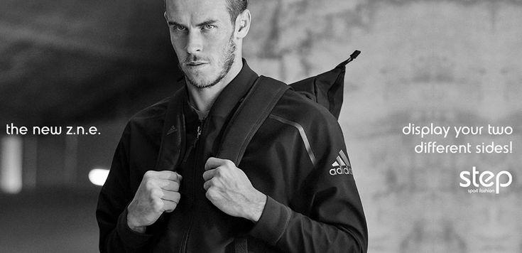 Δείξε κι εσύ τις δύο σου όψεις με το νέο σου bomber jacket από την adidas! #zne #adidas #garethbale #stepsport
