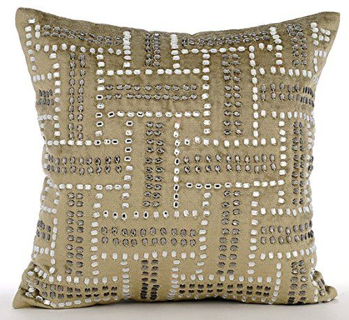 Luxury Sage Green Decorative Pillow Cover, Crystals Maze ... https://www.amazon.com/dp/B016H8UL2A/ref=cm_sw_r_pi_dp_x_JbmaybXVVYC35