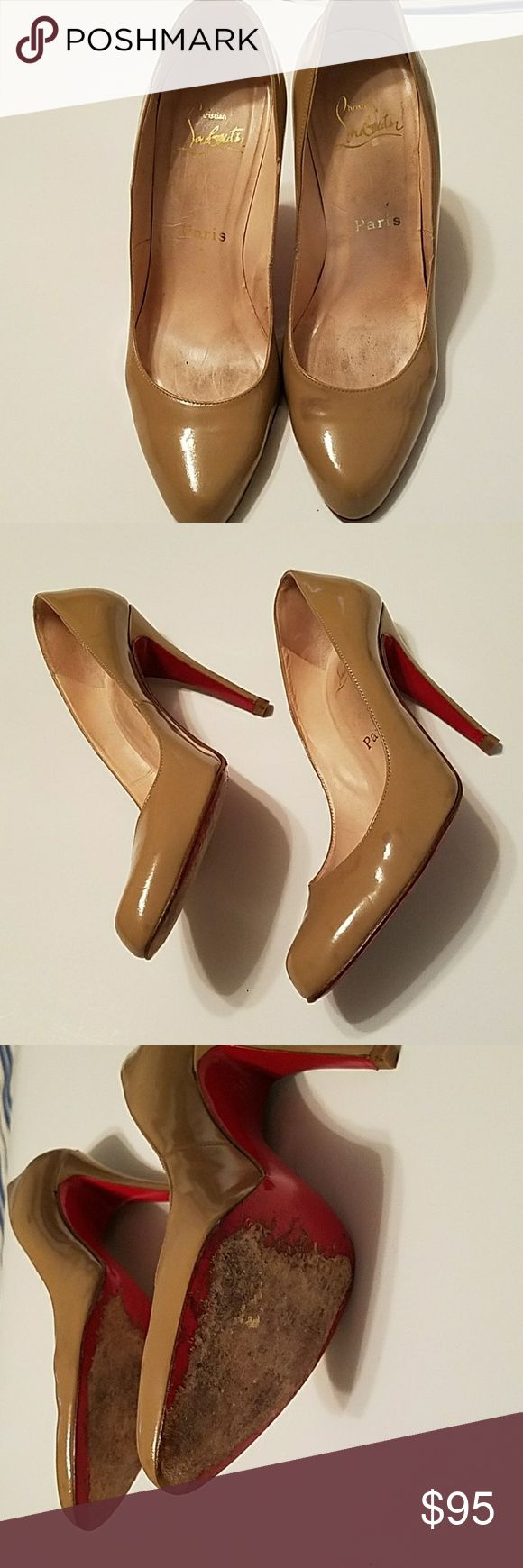 Christian Louboutin pumps Classic patent leather Christian Louboutin pumps Christian Louboutin Shoes Heels