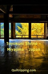 Photo POSTcard: Toyokuni Shrine - The Hall of One Thousand Tatami Mats - Quiltripping