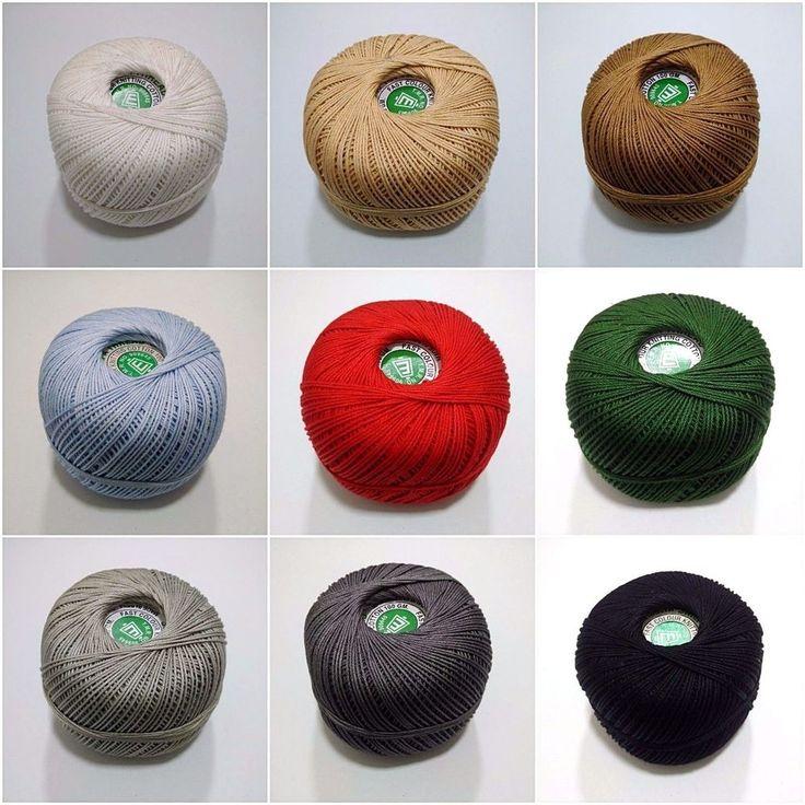 100 Grams Cotton Thread Yarn Gassed Mercerized Knitting Crochet Lace Embroidery #DesiHawker