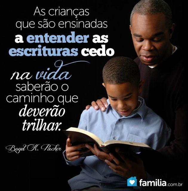 O testemunho em Jesus Cristo obtido por meio do estudo das escrituras é a força que o jovem precisa para vencer os obstáculos e estar preparado para os desafios da vida.