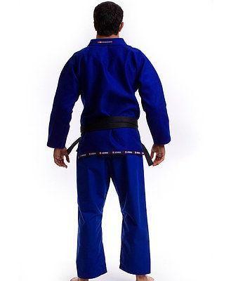 Atama Mundial Model #9 - Blue Brazilian Jiu Jitsu Judo Kimono