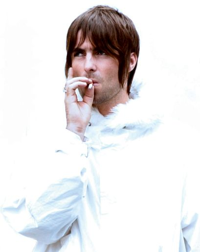 Liam Gallagher. Reminds me of his cameo in Little by Little.