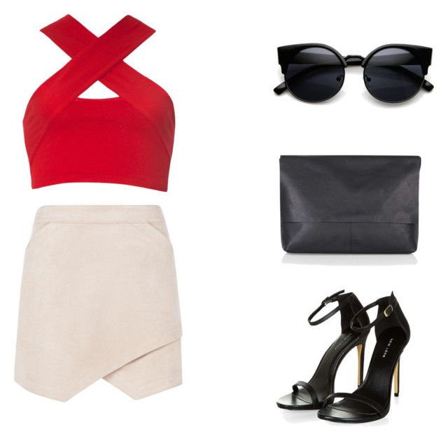 """""""party"""" by dasha-efimovich on Polyvore featuring мода, BCBGMAXAZRIA, Motel, Topshop, women's clothing, women's fashion, women, female, woman и misses"""
