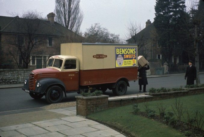 old british delivery vehicles google search trucks