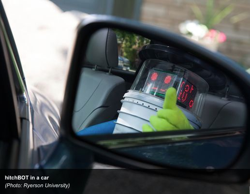 HitchBOT makes his way across Canada