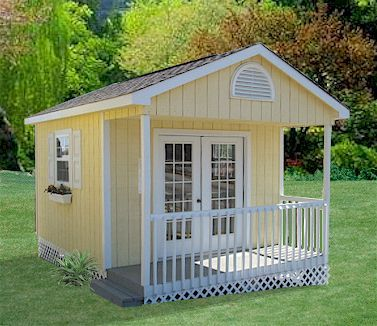 Outdoor Shed Love The Porch For Charm And Would