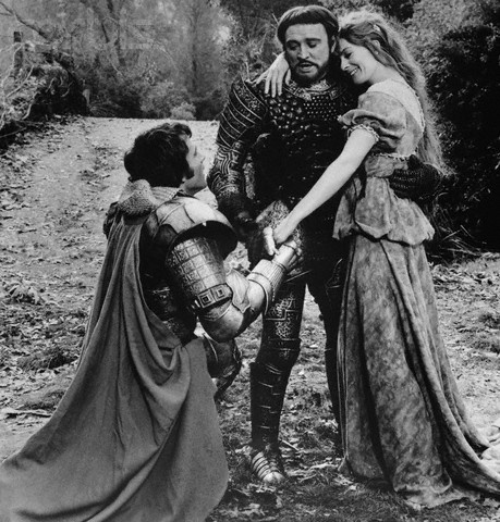"Avalon Camelot King Arthur:  ""Camelot,"" starring Richard Harris, Vanessa Redgrave, and Franco Nero."