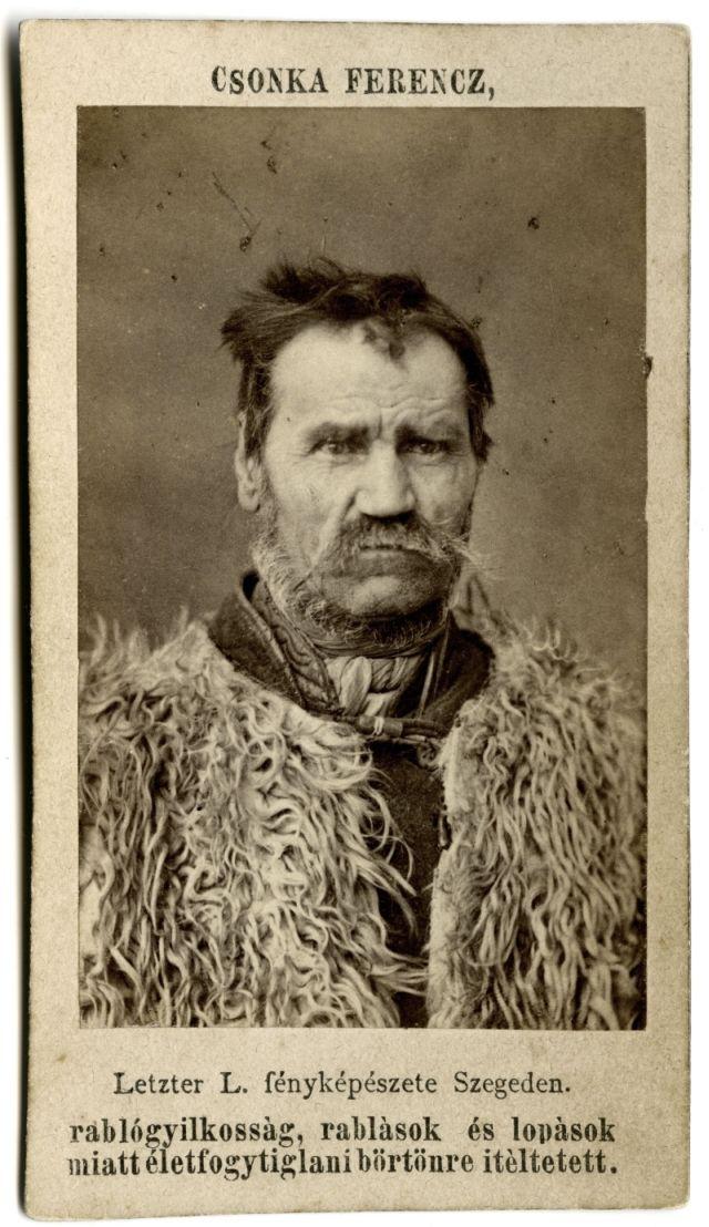 Csonka Ferenc - az utolsó betyár vonatrablás vezére