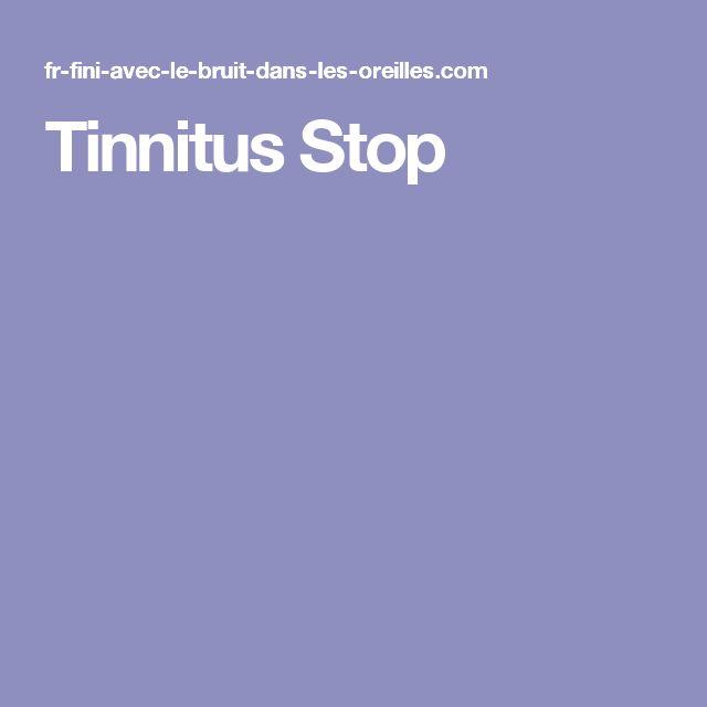 Tinnitus Stop