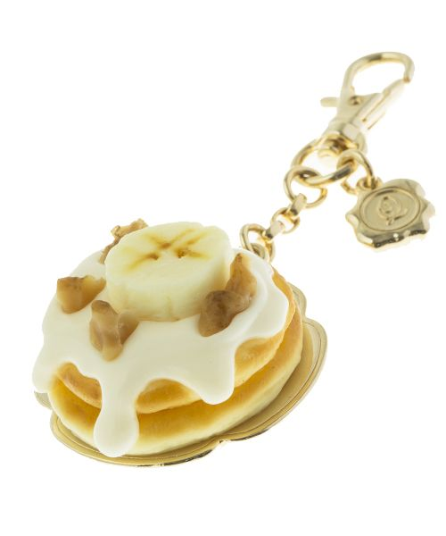 Maple Cream Banana Pancake Bag Charm