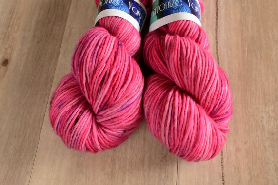 Barbie Likes To Party  DK 100% Superwash Merino Singles Hand