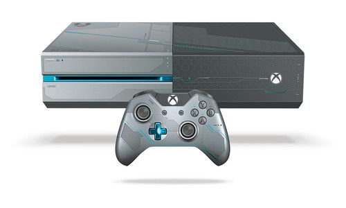 Console de Videogame Microsoft Xbox One Halo 5: Guardians 1024 GB - 52% de…