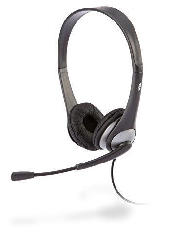 Cyber Acoustics Stereo Headset headphone with microphone great for K12 School Classroom and Education (AC-204)