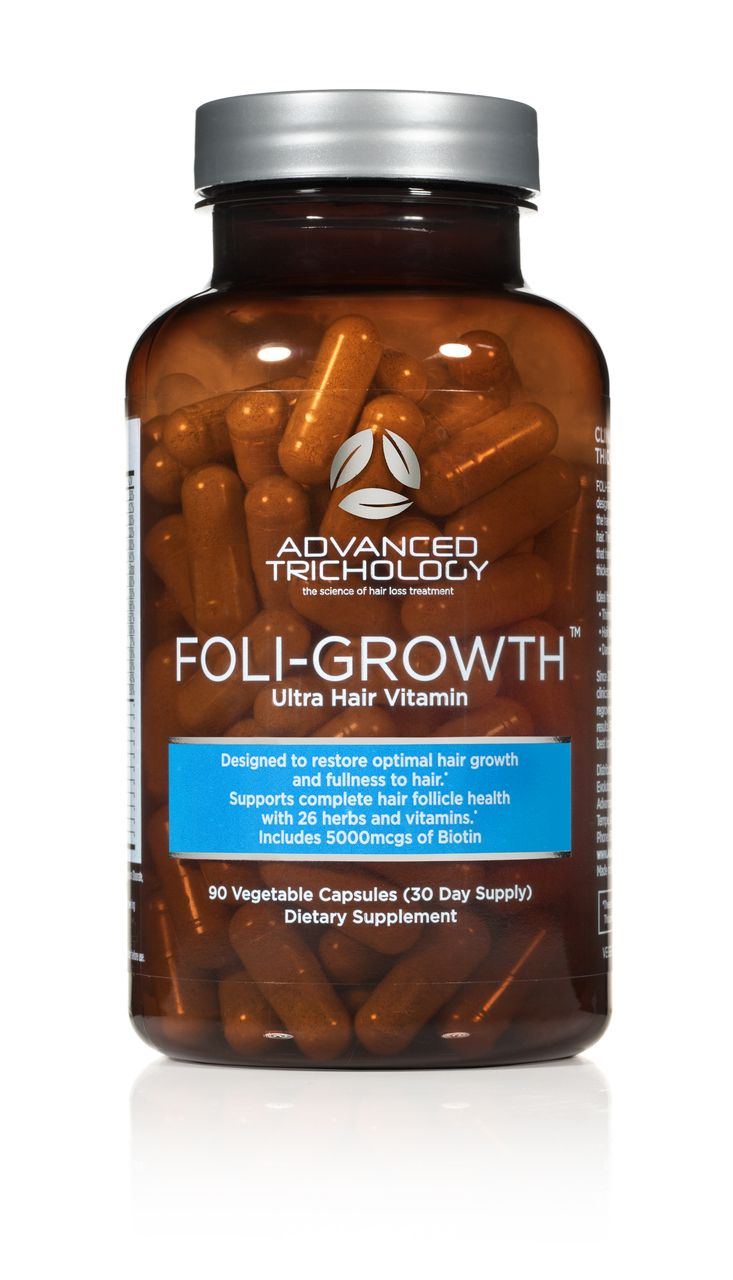 Foli-Growth Folic Acid & Biotin Hair Vitamin! So good for hair (: