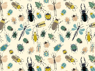 Creepy Crawlies I - pattern by Studio Brun