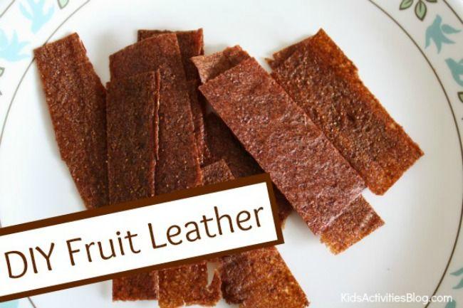 Good Healthy Food: Fruit Leather Recipe {Kids Love}