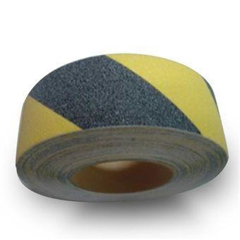 KAYDIRMAZ ZIMPARALI BANT 5 cm X 25 mt. Sarı / Siyah http://www.uysisguvenligi.com.tr/guvenlik-ve-emniyet-seridi-bantlari