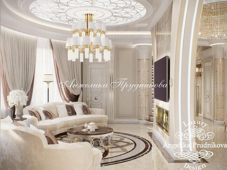 Идиллия Дизайн проект интерьера загородного дома в КП Идиллия - фото