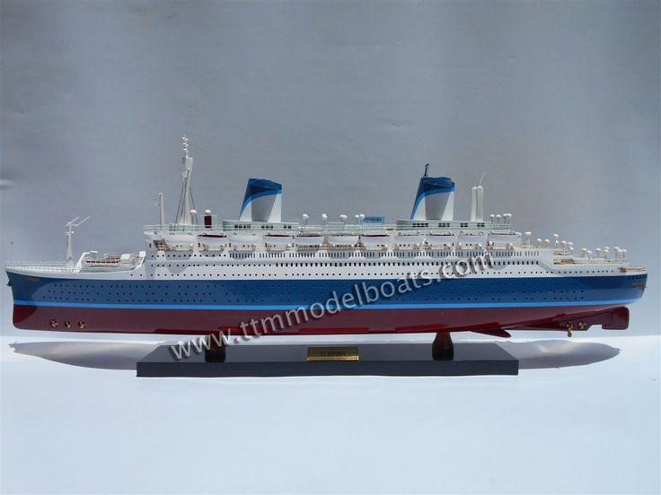 SS Norway Model Boat | SS Norway Wooden Model Ships ...