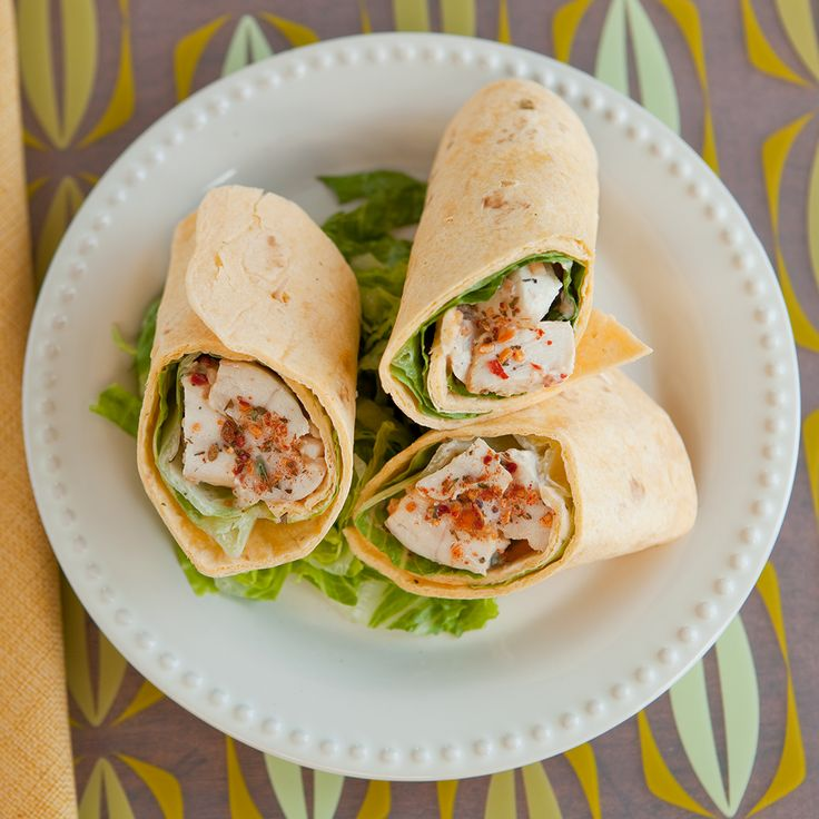 #Epicure Grilled Montreal Chicken Wraps