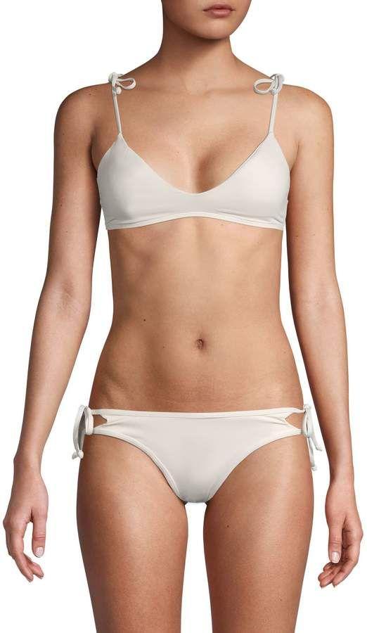 L-Space Scoopneck Bikini Top