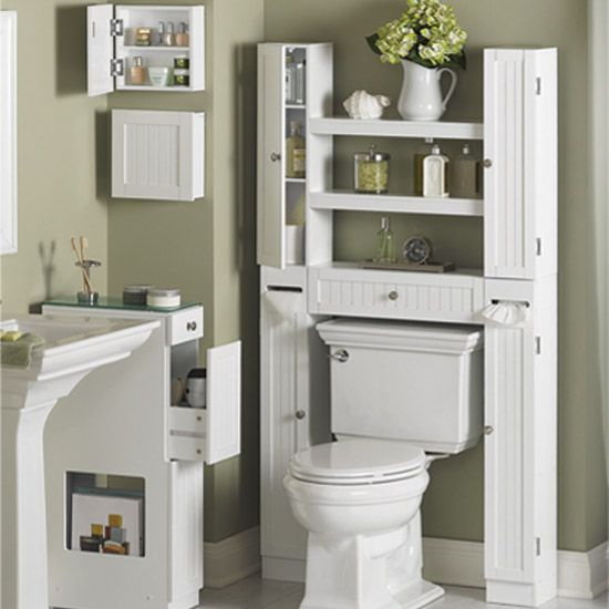 330 best images about home bath on pinterest pedestal for Small bathroom etagere