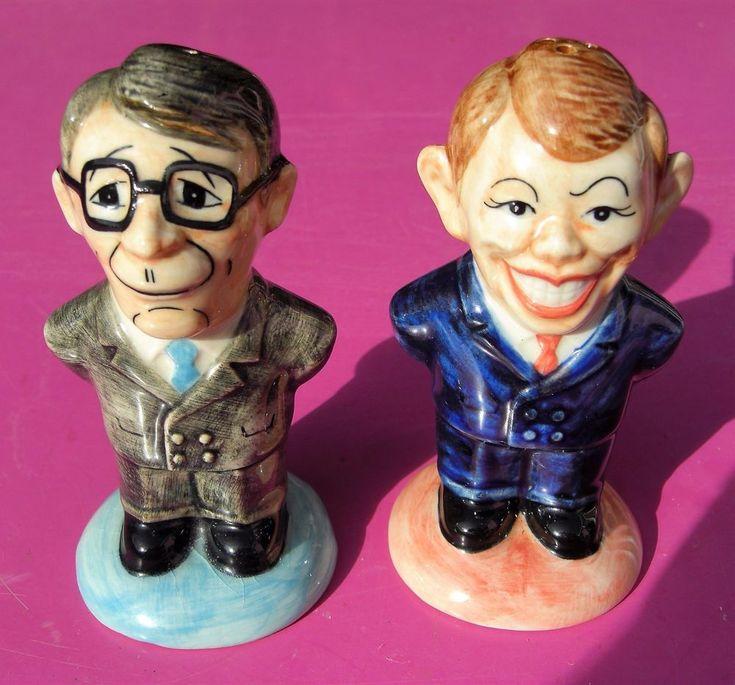 Novelty Salt & Pepper Shakers - John Major and Tony Blair | Collectables, Kitchenalia, Salt & Pepper Pots | eBay!