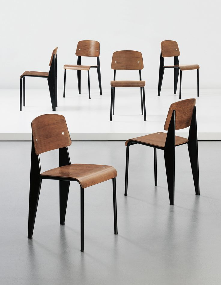 Jean Prouvé's Standard Chair - love the shape! http://www.nest.co.uk/search/vitra-standard-chair